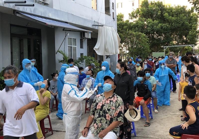Đà Nẵng phong toả cứng 4 phường vì tốc độ lây nhiễm rất nhanh - ảnh 1