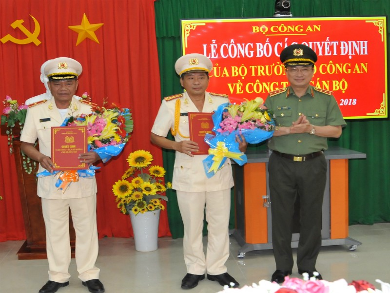 Đại tá Nguyễn Văn Hiểu làm GĐ Công an tỉnh Vĩnh Long - ảnh 1
