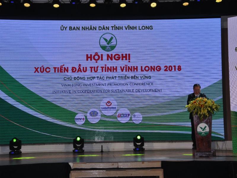 Thủ tướng chủ trì Hội nghị xúc tiến đầu tư Vĩnh Long - ảnh 1