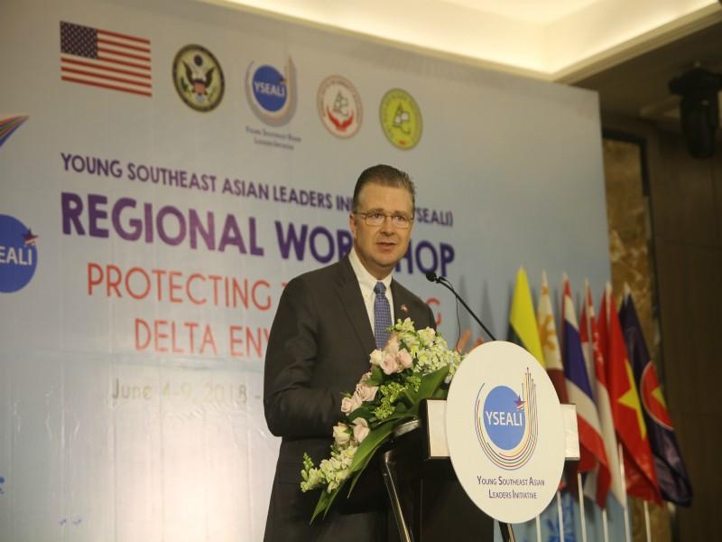 Hội thảo Sáng kiến Lãnh đạo trẻ Đông Nam Á tại Cần Thơ - ảnh 2