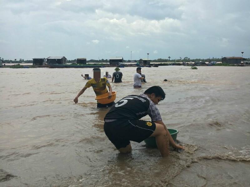 Bơi ra sông cứu bạn, nam sinh viên tử vong thương tâm - ảnh 1