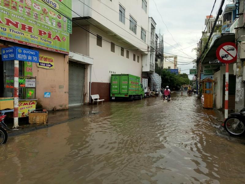 Nước đầu nguồn lên sớm, nhiều nơi ĐBSCL ngập nặng - ảnh 2