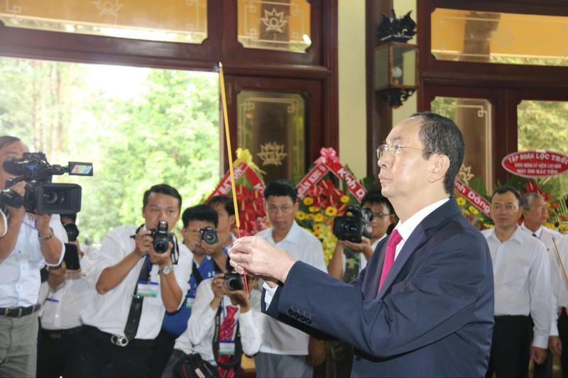 Chủ tịch nước dự lễ kỷ niệm 130 năm ngày sinh Bác Tôn - ảnh 1