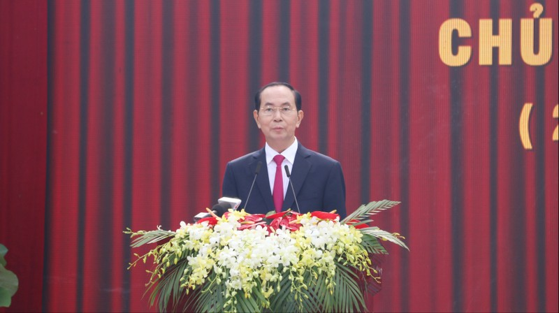 Chủ tịch nước dự lễ kỷ niệm 130 năm ngày sinh Bác Tôn - ảnh 2
