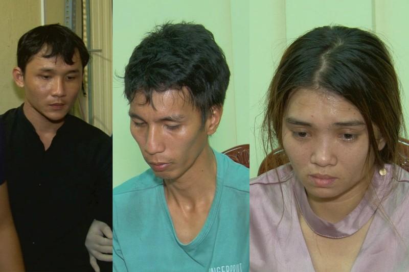 3 nghi can trộm tiệm vàng bị bắt khi mang đi bán - ảnh 2