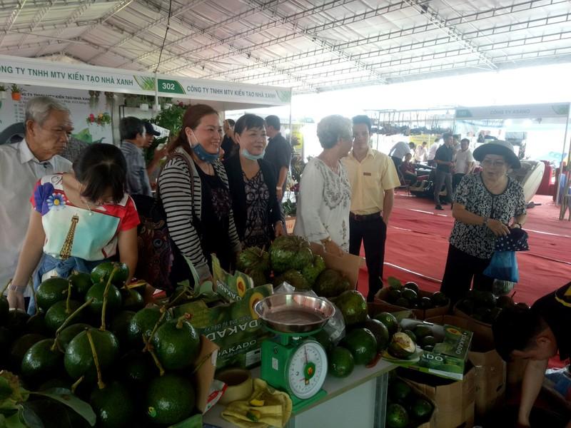 300 doanh nghiệp dự hội chợ nông nghiệp quốc tế - ảnh 1
