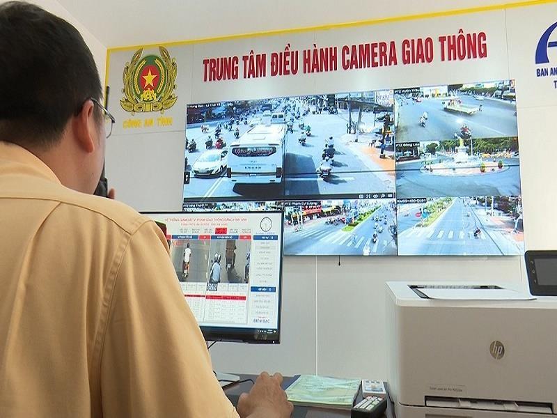 An Giang lắp đặt 8 camera giám sát giao thông - ảnh 1