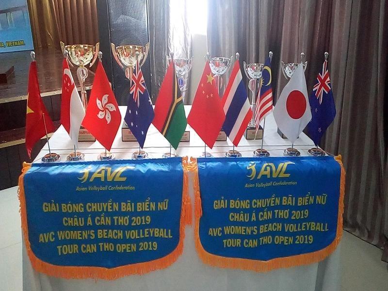 11 quốc gia tranh tài giải bóng chuyền bãi biển nữ châu Á - ảnh 2