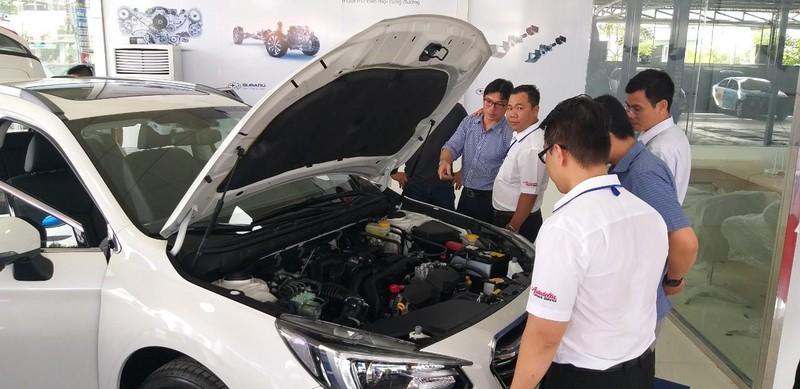 Khai trương Showroom ô tô Subaru đầu tiên ở ĐBSCL - ảnh 3
