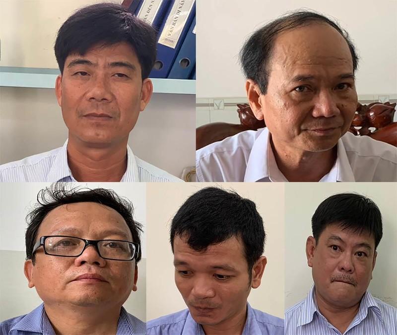 Hàng loạt cựu cán bộ phòng Tài nguyên TP Trà Vinh bị bắt - ảnh 2