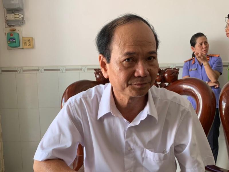 Hàng loạt cựu cán bộ phòng Tài nguyên TP Trà Vinh bị bắt - ảnh 1