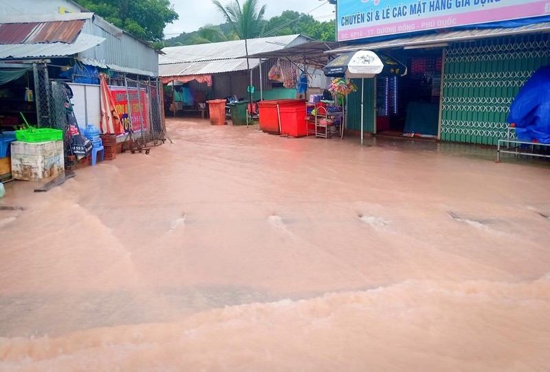 Cận cảnh đảo ngọc Phú Quốc bị nhấn chìm trong nước - ảnh 4