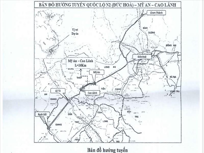 Đề xuất làm tuyến đường Mỹ An-Cao Lãnh hơn 4.500 tỉ - ảnh 1