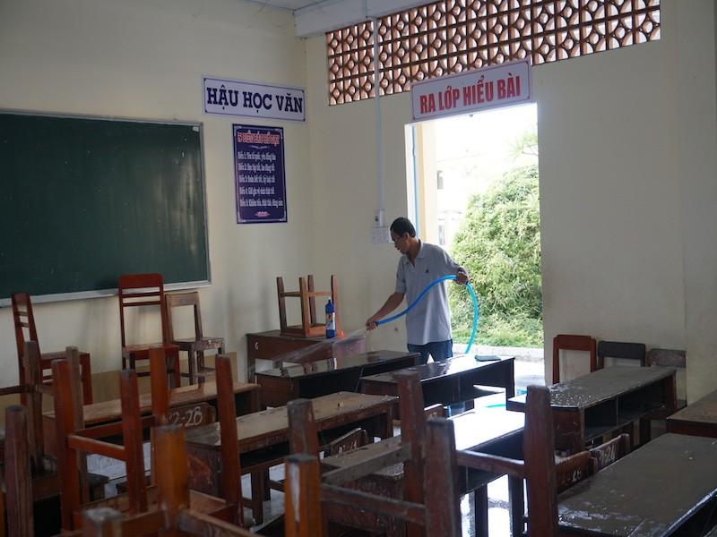 1 trường ở Cần Thơ tiếp tục lùi lịch học 1 tuần để tránh dịch - ảnh 1