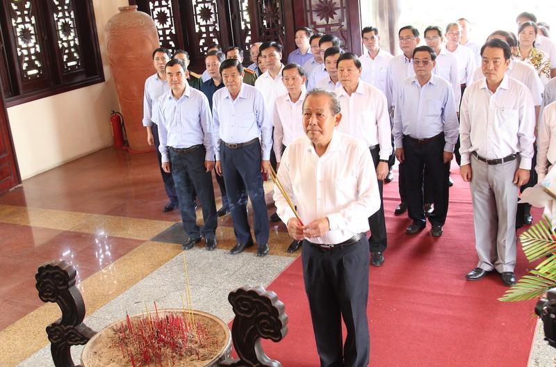 Phó Thủ tướng Trương Hòa Bình tặng nhà tình nghĩa ở Vĩnh Long - ảnh 4