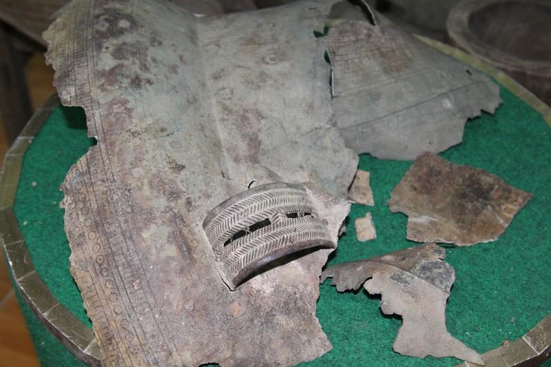 Ngư dân phát hiện trống đồng trên sông Cổ Chiên - ảnh 6