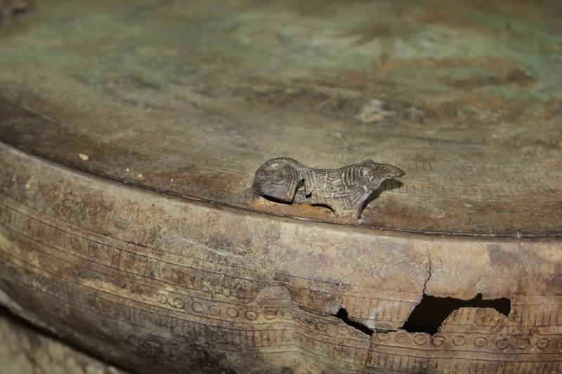 Ngư dân phát hiện trống đồng trên sông Cổ Chiên - ảnh 4