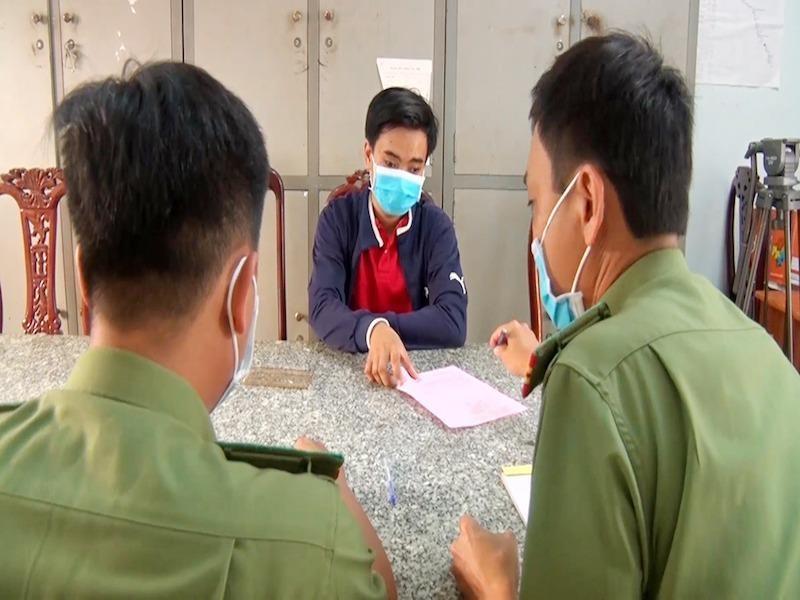 Bị phạt 12,5 triệu vì bịa chợ Tri Tôn có người nhiễm COVID-19 - ảnh 1