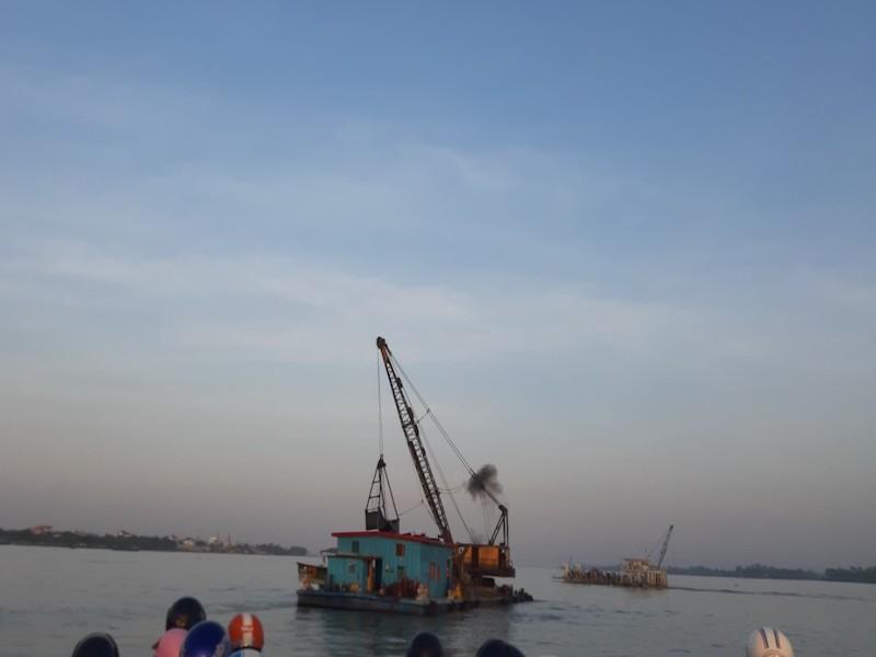 An Giang: Cấm khai thác cát sông vào ban đêm - ảnh 1