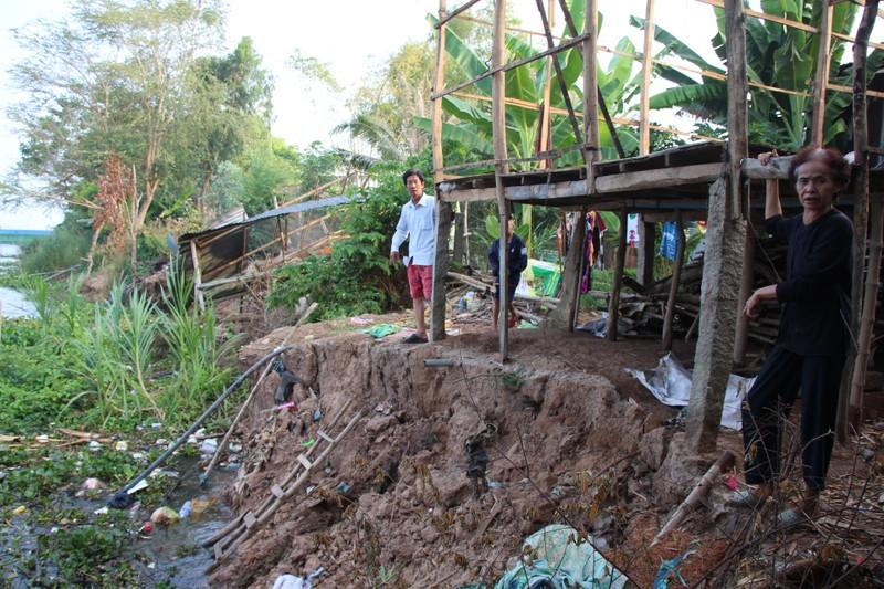 Đồng Tháp: Khẩn cấp di dời 551 hộ dân ven sông Tiền - ảnh 1