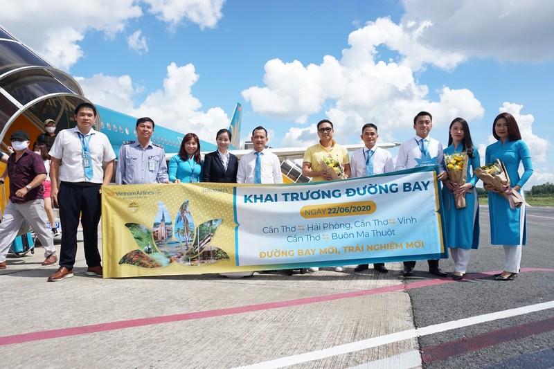 Vietnam Airlines chính thức mở 3 đường bay kết nối với Cần Thơ - ảnh 2