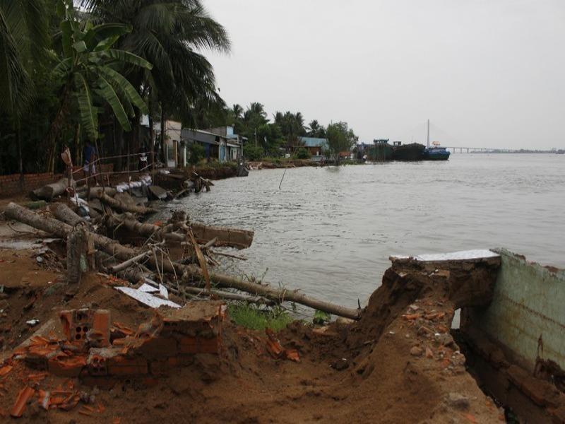 Vĩnh Long: Thiệt hại do thiên tai trên 38 tỉ  - ảnh 1