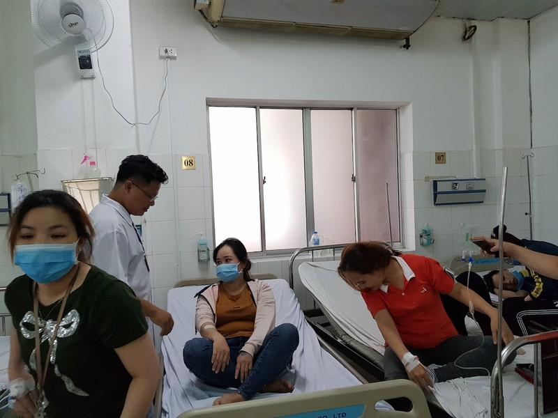 Cần Thơ: Rò rỉ khí gas, 40 công nhân nhập viện - ảnh 1