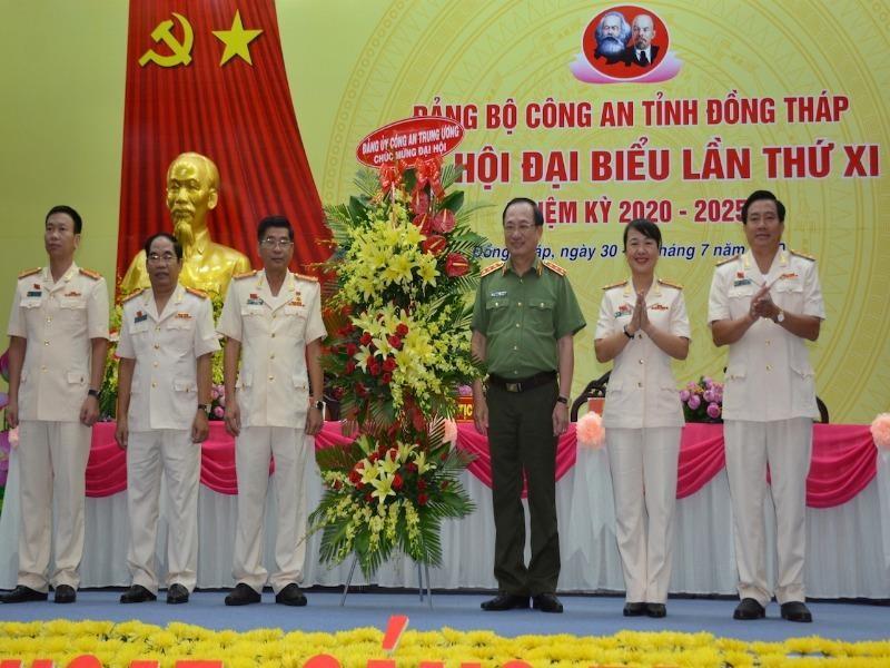 Thượng tướng Nguyễn Văn Thành dự Đại hội Công an Đồng Tháp - ảnh 1