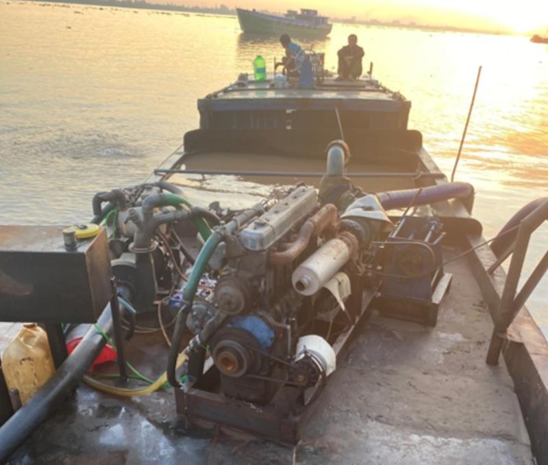 An Giang: Bắt 4 ghe hút trộm cát tại sông Tiền và sông Hậu - ảnh 3