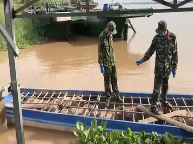 Bắt 6 tấn heo từ Campuchia nhập lậu vào Việt Nam - ảnh 2