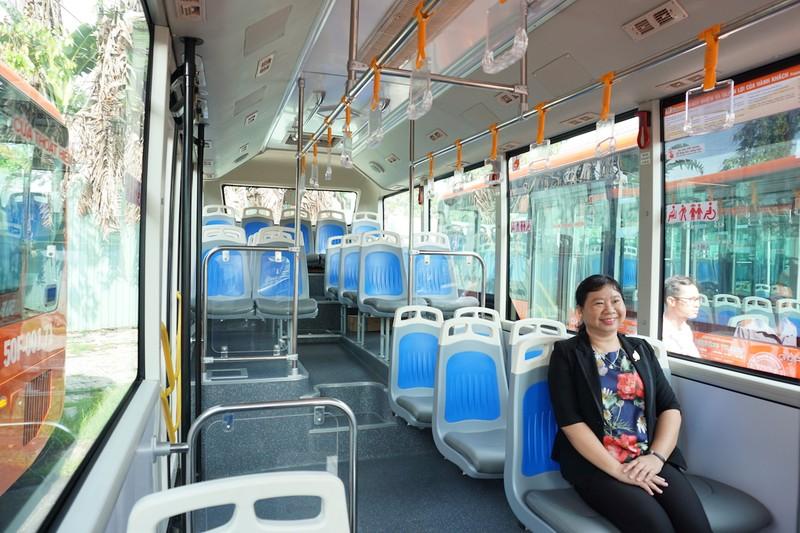 Cần Thơ: Khai trương 5 tuyến xe buýt chất lượng cao - ảnh 8