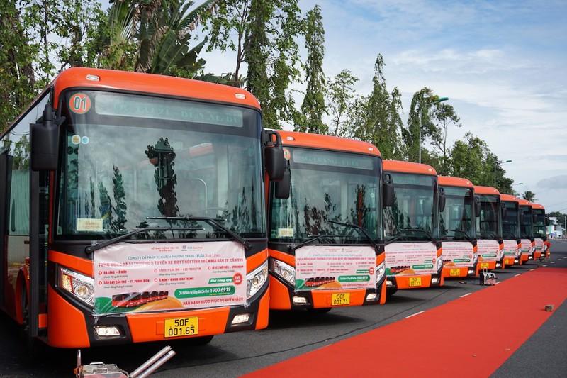 Cần Thơ: Khai trương 5 tuyến xe buýt chất lượng cao - ảnh 6