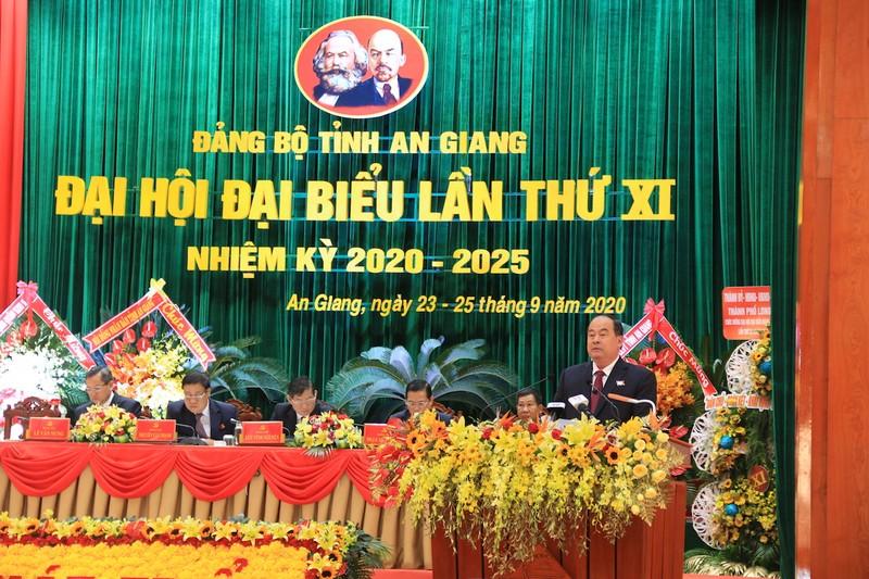 Khai mạc Đại hội đại biểu Đảng bộ tỉnh An Giang lần thứ XI - ảnh 4