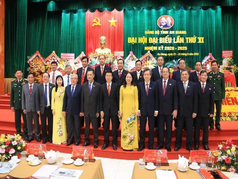 Khai mạc Đại hội đại biểu Đảng bộ tỉnh An Giang lần thứ XI - ảnh 1