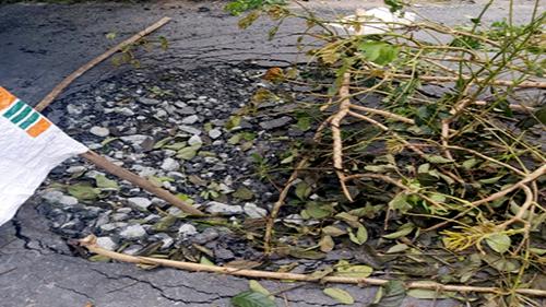 Điều tra nghi vấn cố ý phá hủy đường gây tai nạn - ảnh 1