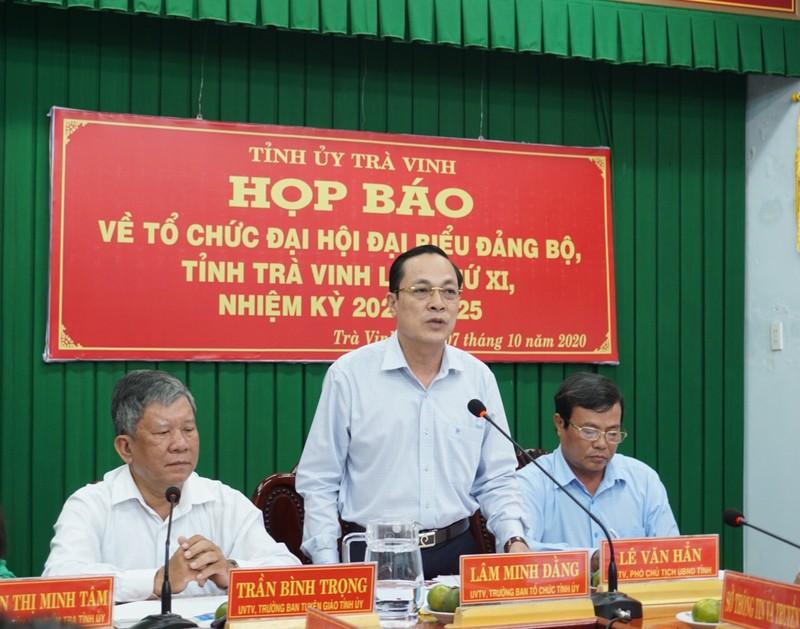Bộ Chính trị đồng ý Trà Vinh có 3 Phó Bí thư Tỉnh ủy - ảnh 2