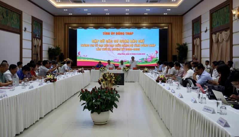 Đồng Tháp: Ông Lê Minh Hoan điều hành đại hội Đảng của tỉnh - ảnh 2