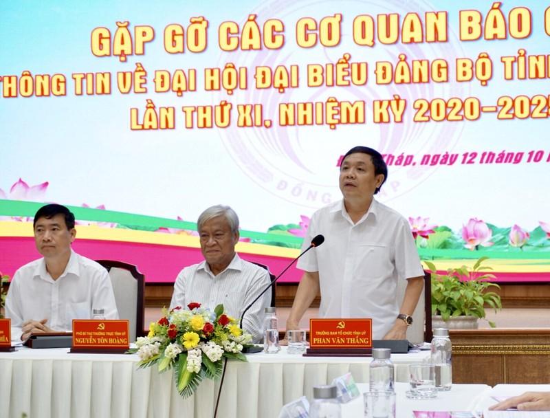 Đồng Tháp: Ông Lê Minh Hoan điều hành đại hội Đảng của tỉnh - ảnh 1
