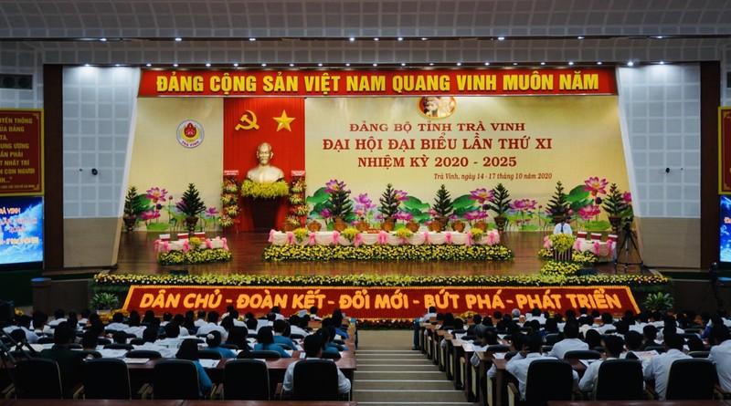 Đại hội Đảng bộ tỉnh Trà Vinh họp phiên trù bị - ảnh 1