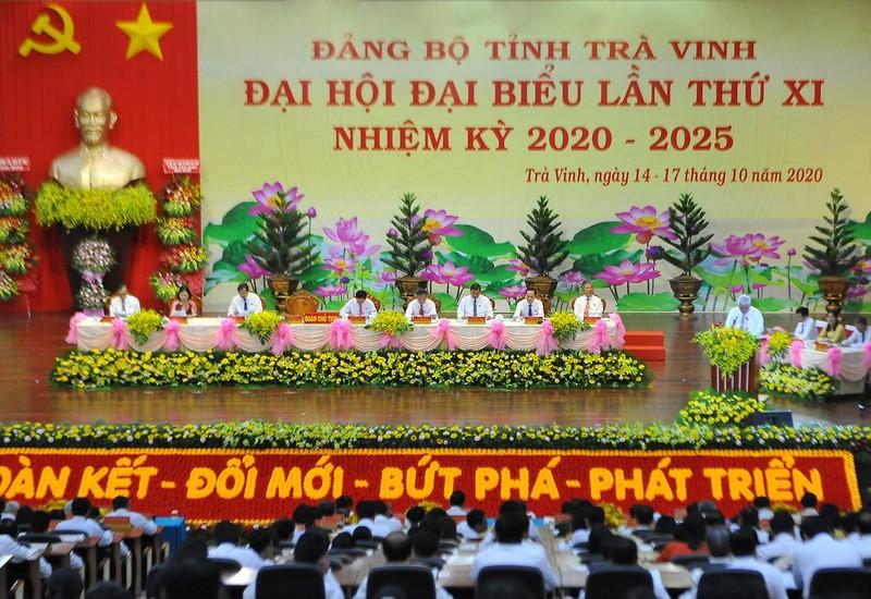 Bế mạc Đại hội đại biểu Đảng bộ tỉnh Trà Vinh khóa XI  - ảnh 1