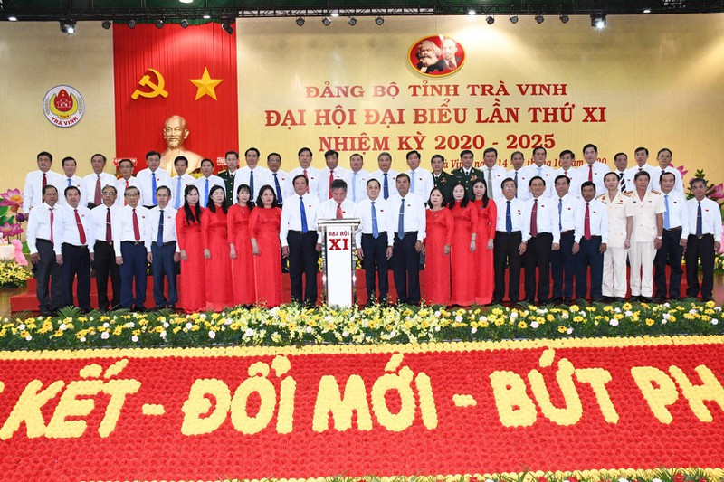 Bế mạc Đại hội đại biểu Đảng bộ tỉnh Trà Vinh khóa XI  - ảnh 2