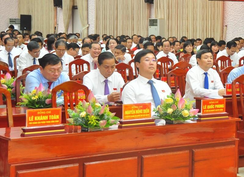 Đại hội Đảng bộ tỉnh Đồng Tháp họp phiên trù bị - ảnh 1