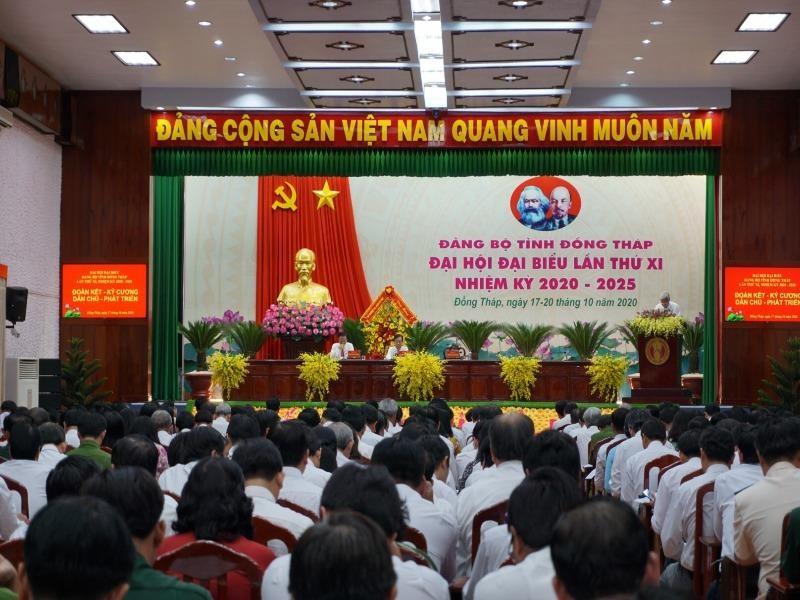 Đại hội Đảng bộ tỉnh Đồng Tháp họp phiên trù bị - ảnh 2