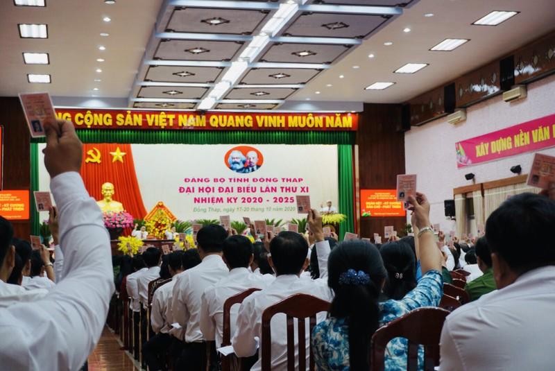 Đại hội Đảng bộ tỉnh Đồng Tháp họp phiên trù bị - ảnh 3