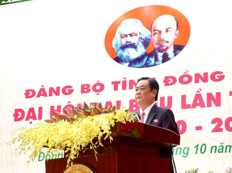 Khai mạc Đại hội Đảng bộ tỉnh Đồng Tháp khóa XI - ảnh 2