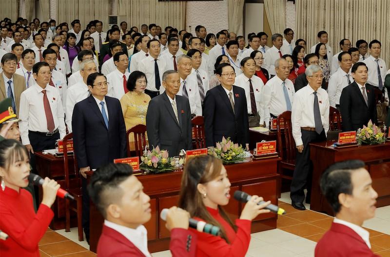 Khai mạc Đại hội Đảng bộ tỉnh Đồng Tháp khóa XI - ảnh 1