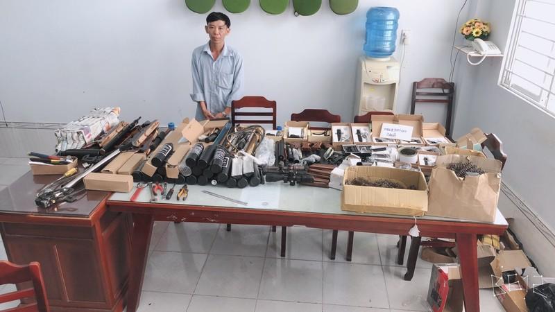 Cần Thơ: Triệt phá điểm mua bán súng săn qua mạng  - ảnh 1