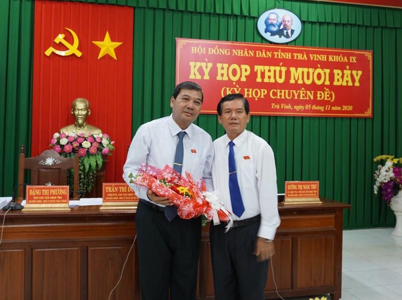 Trà Vinh có tân Chủ tịch Hội đồng Nhân dân tỉnh - ảnh 1