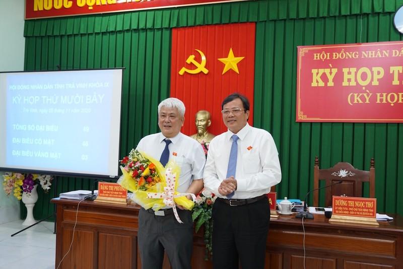 Ông Lê Văn Hẳn được bầu làm Chủ tịch UBND tỉnh Trà Vinh - ảnh 1