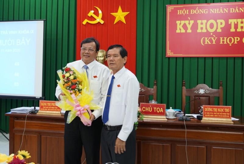 Ông Lê Văn Hẳn được bầu làm Chủ tịch UBND tỉnh Trà Vinh - ảnh 2
